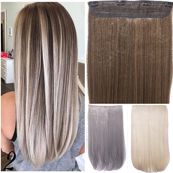 Ekstenzije za kosu mogu biti prirodne ili sintetičke